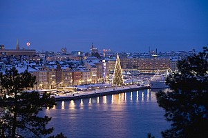 ADVENT VE STOCKHOLMU S PLAVBOU DO TALLINNU