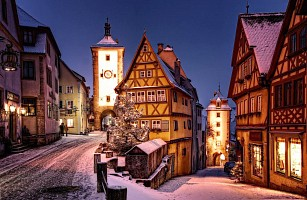 Adventní perly Bavorska: Norimberk a Rothenburg